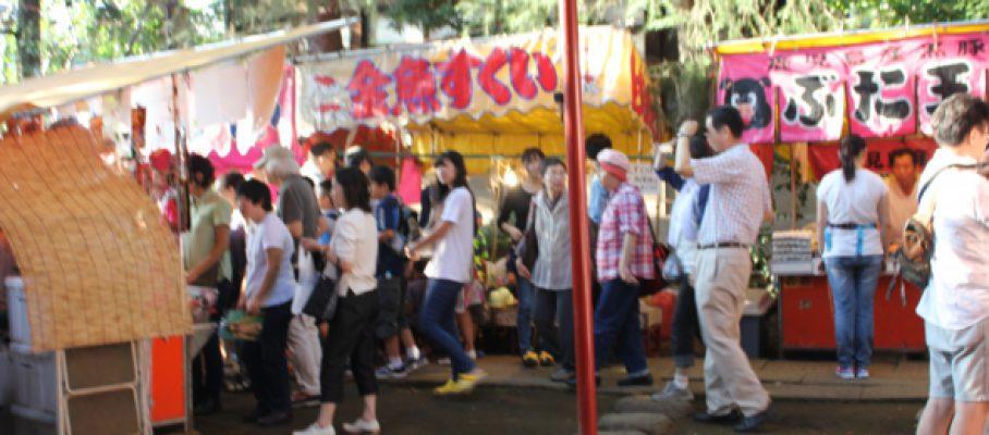 2015年9月椎名町夏祭り開催告知