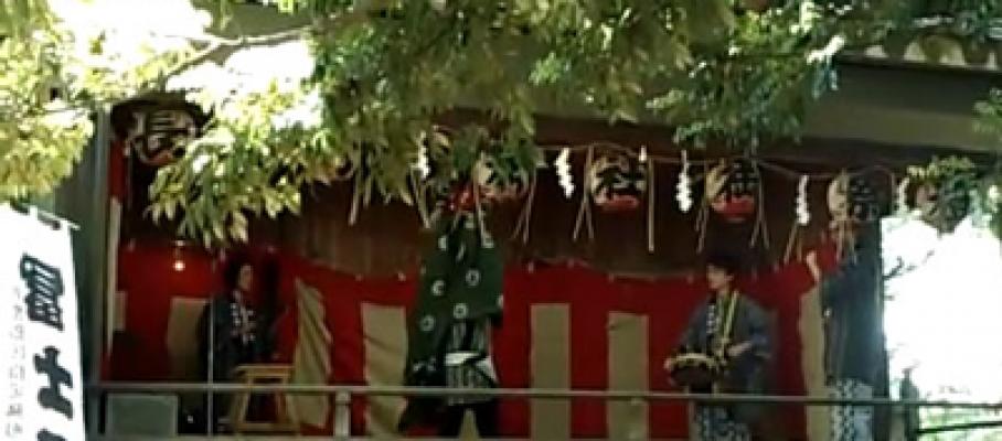2016年5月8日長崎神社 獅子舞開催